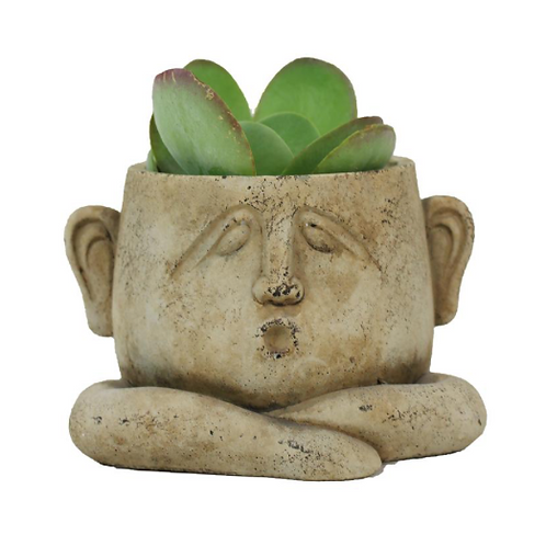 Ceramic Face Planters