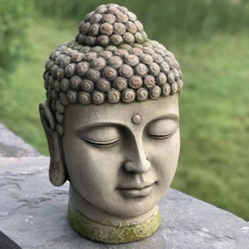 Thai Budha Head Sculpture