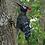 Thumbnail: Metal Woodpecker Wall Decor