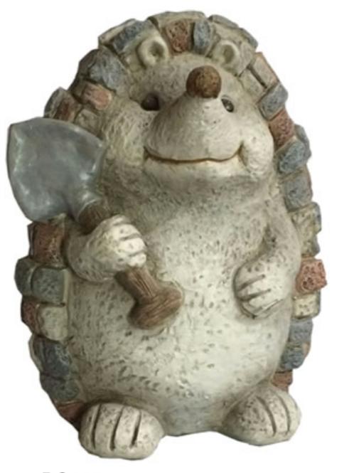 Fiberglass Hedgehog