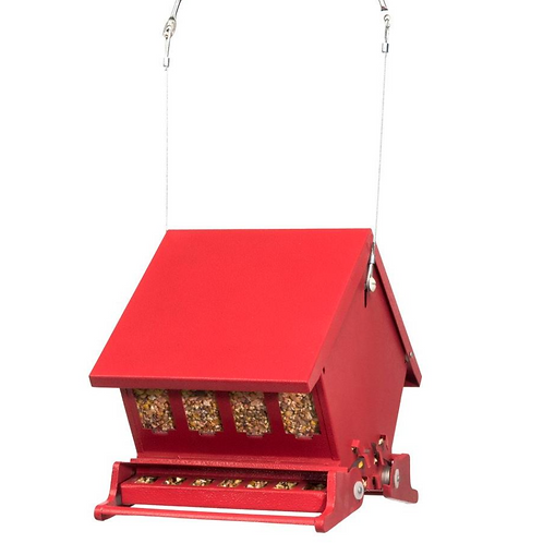 Mini Absolute II  - Squirrel Proof - Hopper Bird Feeder
