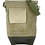 Thumbnail: RECYCLED MILITARY TENT CROSSBODY WITH LEATHER ACCENT
