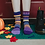 Thumbnail: Purple Rain Crew Socks