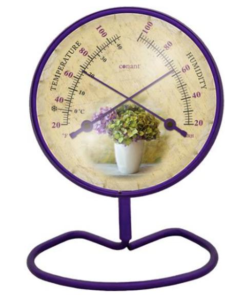 Convertible Small 4 inch Dial Comfortmeter Hydrangea