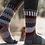 Thumbnail: Mahogany Wool Crew Socks