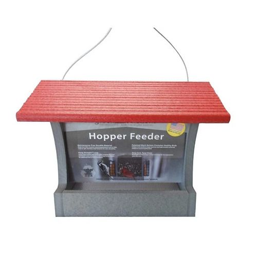 Green Solutions - Hopper Feeder - 3 Quart