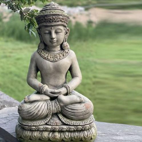 Meditating Thai Budha