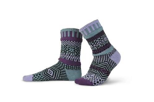 Wisteria Crew Socks