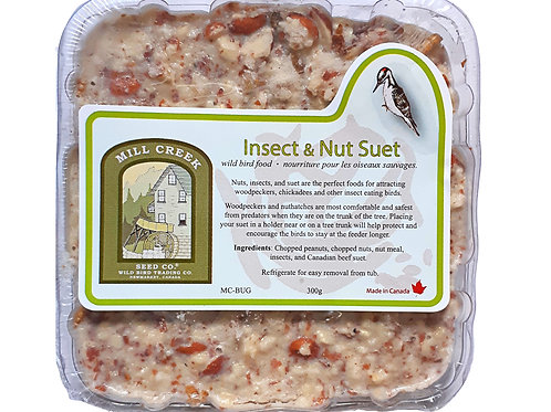 Mill Creek Premium Suet - Insect & Nut