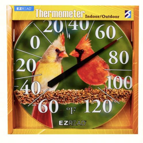 Cardinals Thermometer 12.5inch