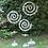 Thumbnail: Spiral Garden Stand with Glass Ball
