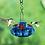 Thumbnail: Handblown Glass Hummingbird Feeder