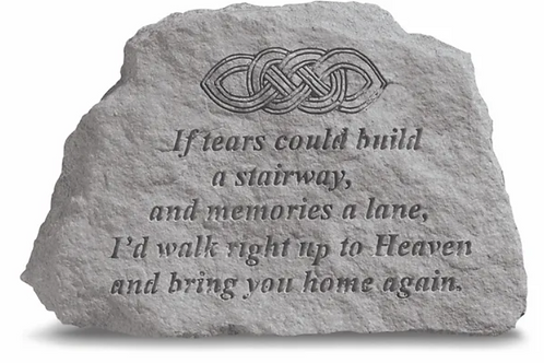 If Tears Could Build A Stairway....