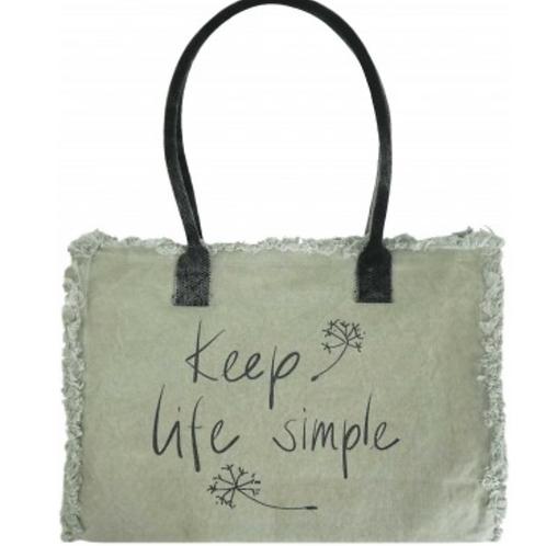KEEP LIFE SIMPLE MARKET TOTE