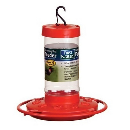 First Nature - 16 oz Hummingbird Feeder