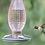 Thumbnail: Cranberry Hobnail Hummingbird Feeder