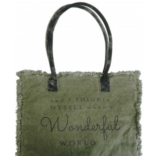 WONDERFUL WORLD MARKET TOTE