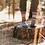 Thumbnail: Ponderosa Wool Crew Socks