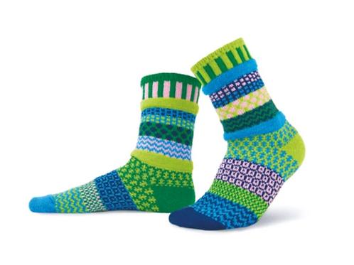 Waterlily Crew Socks