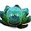 Thumbnail: Solar Metal Blue Flower with Glass Ball