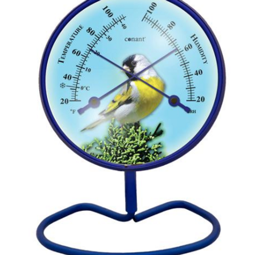 Convertible Small 4 inch Dial Comfortmeter Yellow Finch
