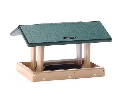 Bird's Choice - Recycled Hopper Bird Feeder - 3 Quart