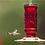 Thumbnail: Red Vintage Hummingbird Feeder