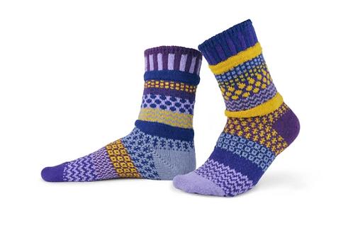 Purple Rain Crew Socks