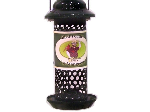 Metal Peanut & Sunflower Feeder