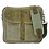 Thumbnail: Vintage Leather and Recycled Military Tent Messenger Bag