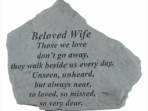 Beloved Wife - Those We Love Don't Go Away