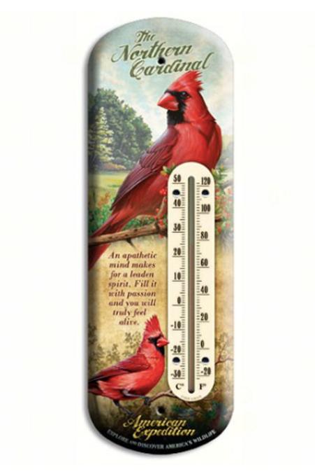 Cardinal Tin Thermometer