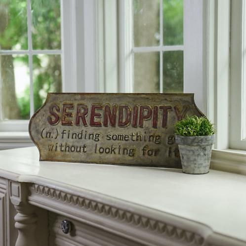 "24"" Serendipity Sign"