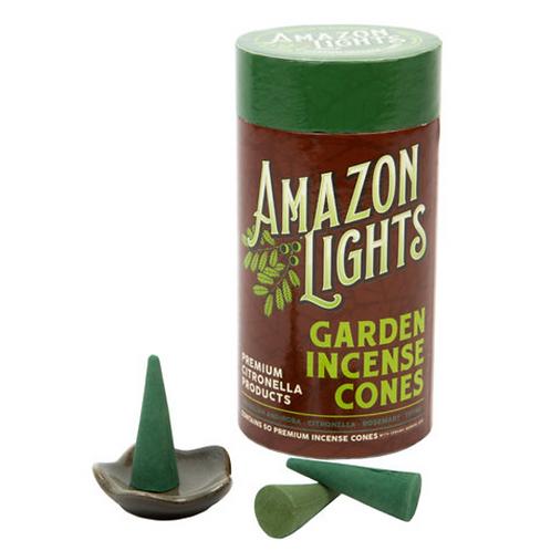 Amazon Lights -Garden Incense Cones