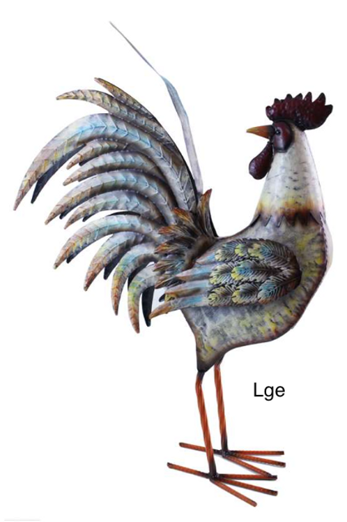 Metal Rooster - Small & Large