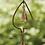 Thumbnail: Leaf with Bell Rain Chain