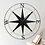 Thumbnail: Black Round Compass