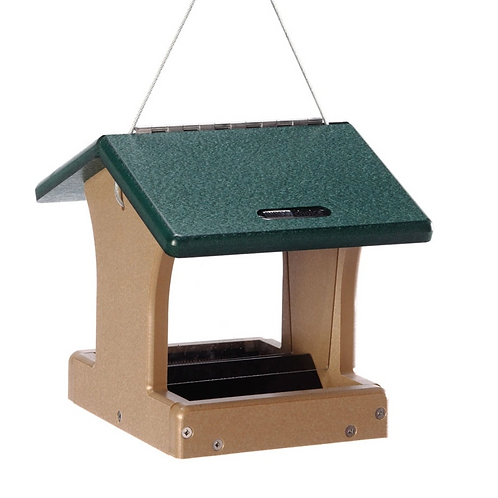 Bird's Choice - 2 Sided Recycled Hopper Bird Feeder