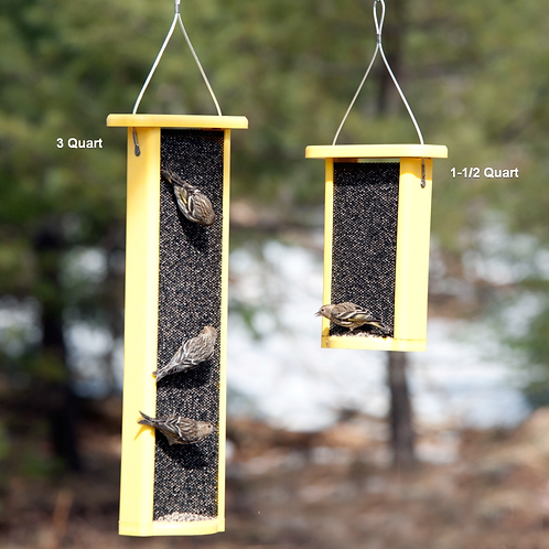 Recycled Magnet Mesh NYJER Feeder