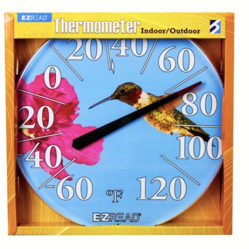Hummingbird Thermometer 12.5inch