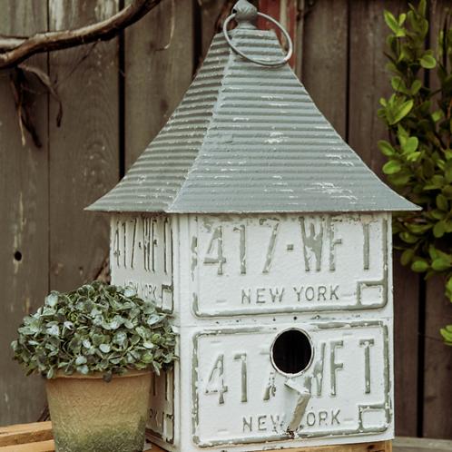 White Cupola Birdhouse