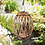 Thumbnail: Oblong Wicker Solar Lantern