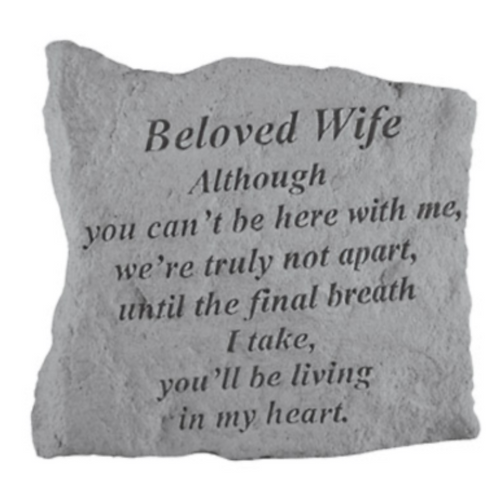 Beloved Wife Although you can't…