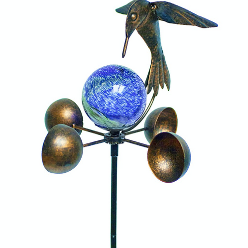 Illuminarie Hummingbird Anemometer Stake