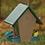 Thumbnail: Recycled Plastic Small Hopper Bird Feeder