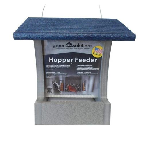 Green Solutions - Hopper Feeder - 2 Quart