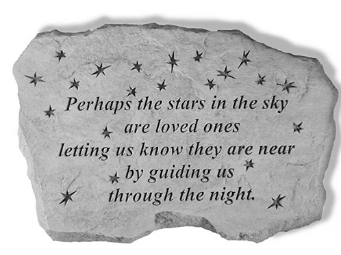 Perhaps the Stars in the Sky