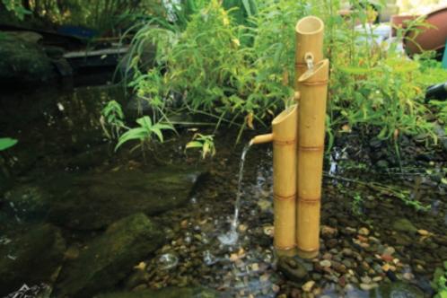 Pouring 3-Tier Bamboo Fountain