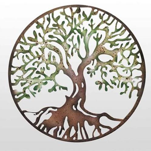 Metal Rustic Tree of Life