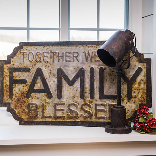 Family Blessed Sign